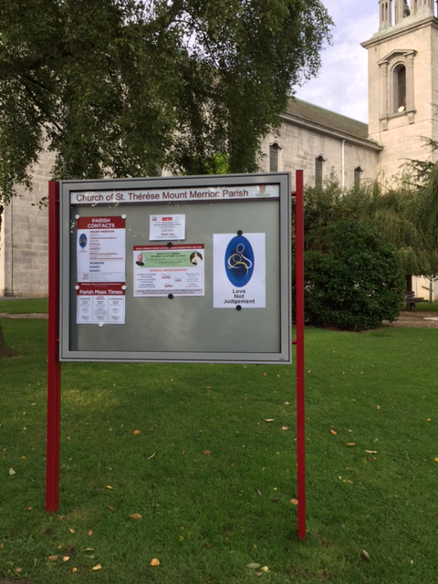 New Church Noticeboard