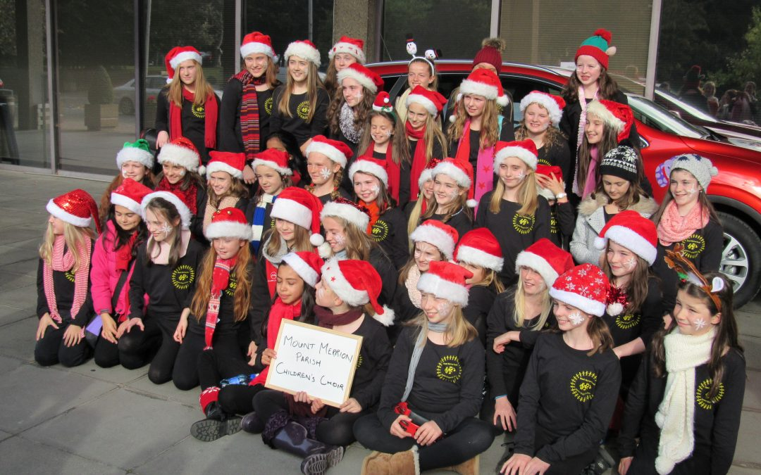 Mount Merrion Parish Children's Choir on RTE
