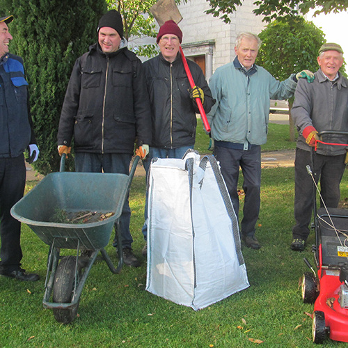 Church grounds and maintenance group