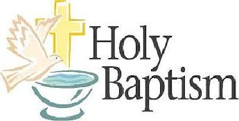 Recent Baptisms in our Parish