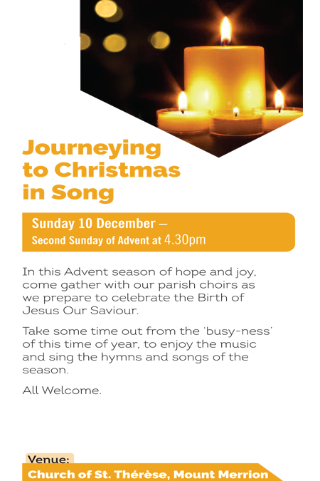 Journeying to Christmas in Song