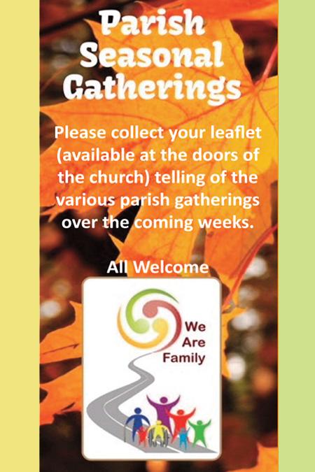Parish Seasonal Gatherings
