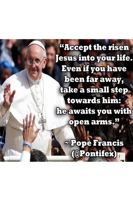 Pope Francis Easter Sunday Quote