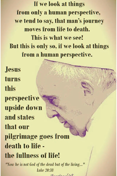 Pope Francis Reflection (Luke)