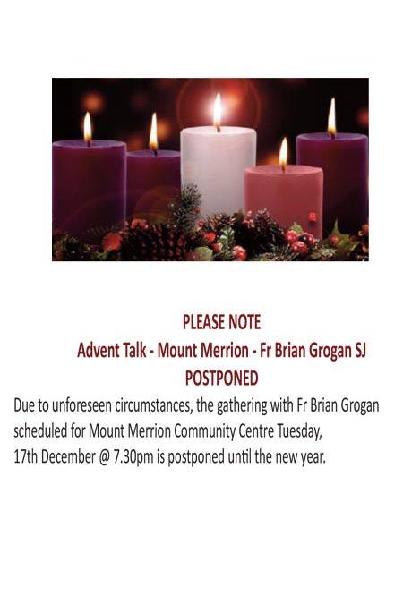 Advent talks