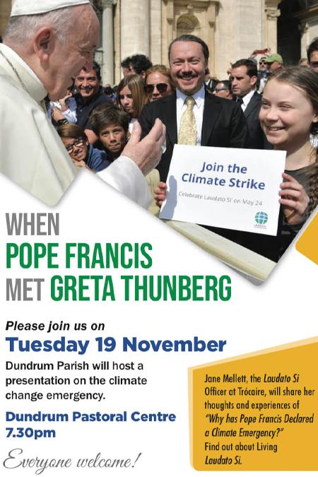 Pope Met Greta