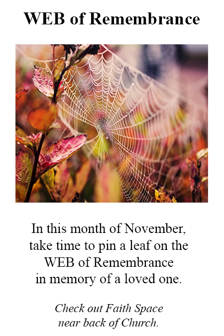 Faith Space – WEB of Remembrance