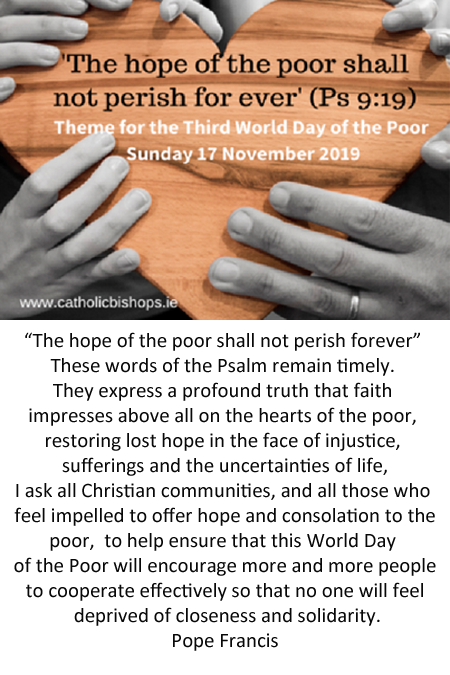 The hope of the poor