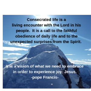 Celebration for Consecrated Life 2020