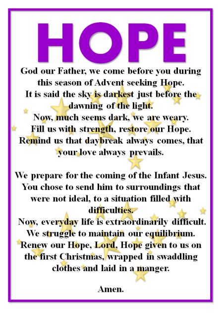 Advent – Hope