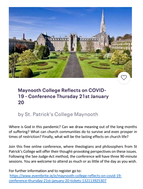 Maynooth college reflection
